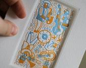Greeting Card/Matted Art - Card to Art - Paul Berkbigler