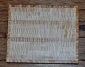 Hand made birdseye maple cutting board