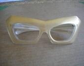 Smoking 1960s Astro Mod Acrylic Eyeglass Frames