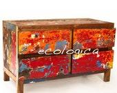 Four-Drawer Dresser / Chest / TV Console