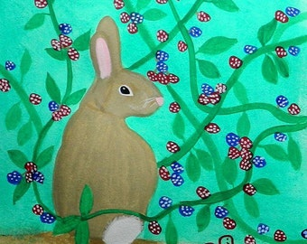 Rabbit in the Briers
