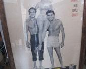 Original 1959 GIDGET movie poster - Sandra Dee, James Darren, Cliff Robertson - Seminal Surfing Flick - Kitsch as All Get Out- Fabulous