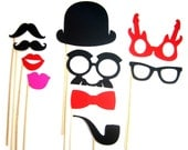 Photo Booth Props - 10 Piece
