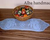 Easter tablecloth crochet