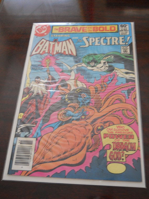 The Brave and The Bold: Starring Batman & the Spectre Comic Book, circa 1981
