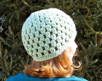 PATTERN- The Larimore Hat,  easy crochet beanie, crochet, adult, teen, spring hat, pdf, InStAnT DoWnLoAd, Permission to Sell