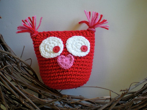 Stuffed Animal Pillows With Pockets : Items similar to PATTERN: Tooth Fairy Pillow Owl Valentine, PDF Easy Crochet, stuffed animal ...