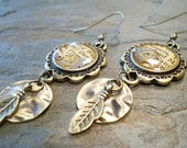 Encased Timepiece Earrings - FromEarToEar