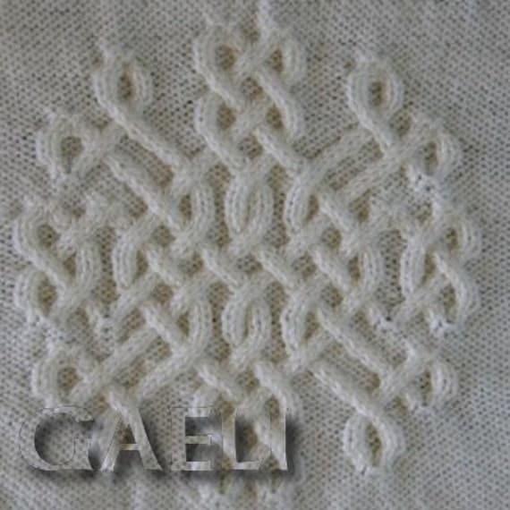 Celtic Snowflake 11 Knitting Pattern by CelticPatterns on Etsy