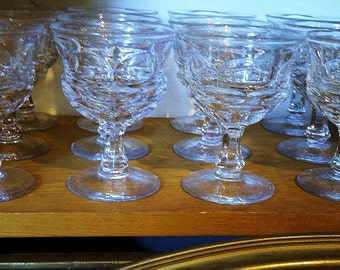 12 Champagne/Sherbert Glasses - Fostoria Argus HFM