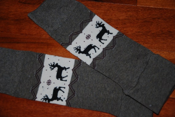 Little Boy Deer Leg Warmers fit Infant to Toddler - great for play and photo shoots