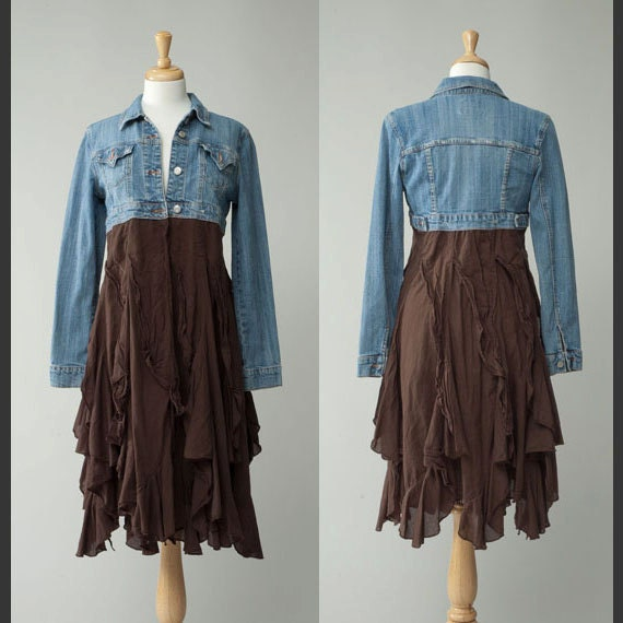 s repurposed country vintage retro crop jean