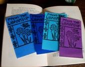 Carnation Bookplate Blue
