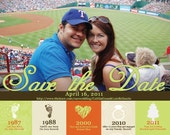 Maria- Custom Save the Date Magnet