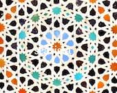 Morrocan Tile Photographic Print
