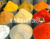 Morrocan Spices Photographic Print