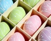 A Box Full of Easter Eggs: Easter Card