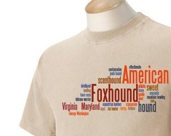 American Foxhound Garment Dyed Cotton T-shirt