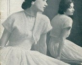 Patons Knitting Book No. R9 -  Vintage Knitting Patterns for Ladies, Girls in FUZZY WUZZY