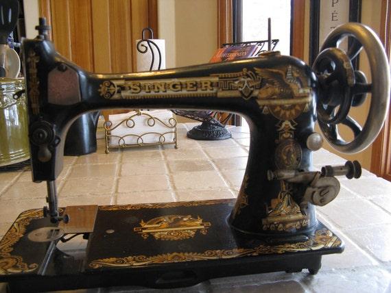 1898 singer sewing machine