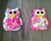 Reserved Listing: Owl Rice Microwavable Heating Pad (Set of 2)