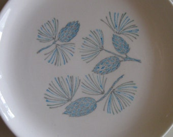 Marcrest Stetson Plate with Blue Spruce Design