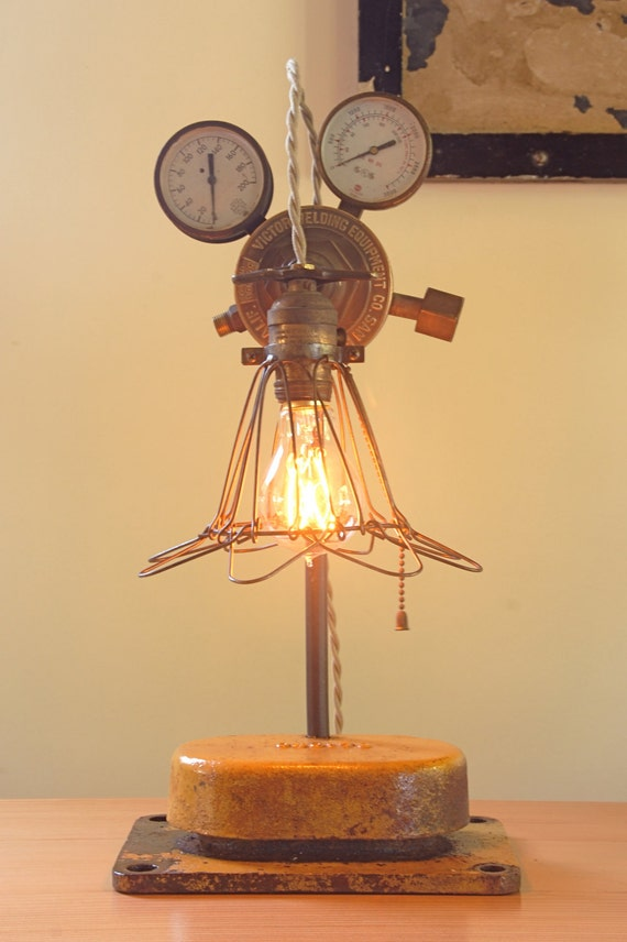Victor Industrial Steampunk Lamp