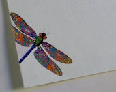 Dragonfly Writing Paper Stationery Set