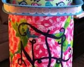 hand painted water jug cooler