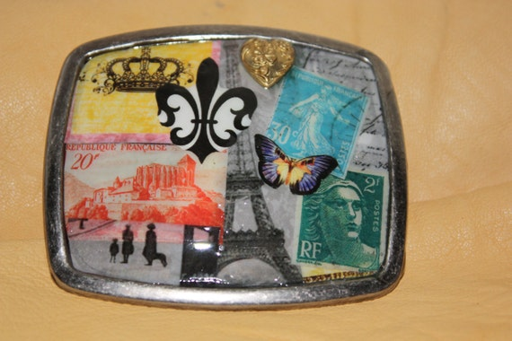 Belt buckle Ode to Paris