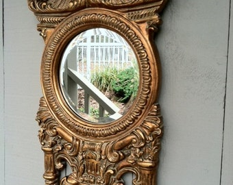 Bronzed Antique Mirror