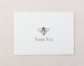 Note Card Set Bee Thank You