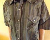 Western Snap Shirt by Eli....Mens XL Tall