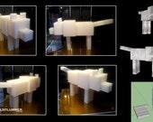 Minecraft Wolf Set
