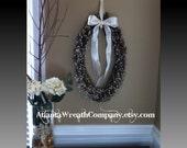 Rustic Wedding Wreath Outdoor Wedding Shabby Chic