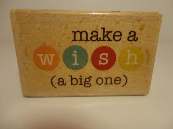 Stamp: Make a wish