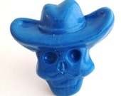 The Maverick - Day of the Dead Resin Drawer Pull, Knob