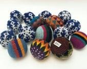 soft embroided kick balls - pelotas suaves bordadas para patear