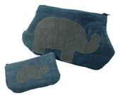 Elephant Clutch & Change Purse Set