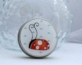 Gift Tin - Cute, Ladybird/Ladybug design, can be personalised