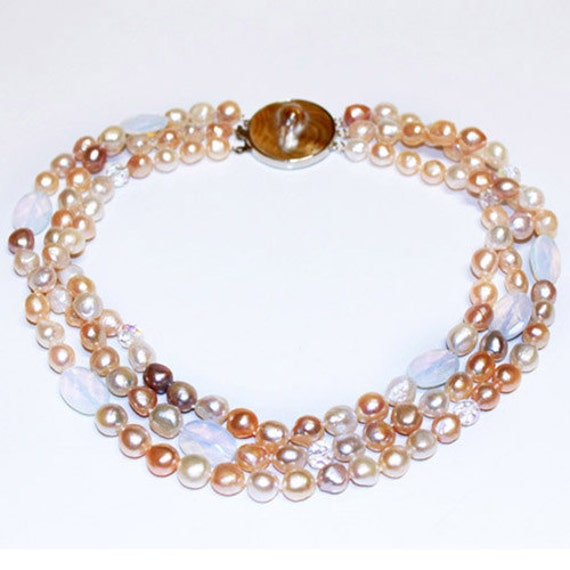 Baroque arts Pearl necklace- FREE SHIPPING