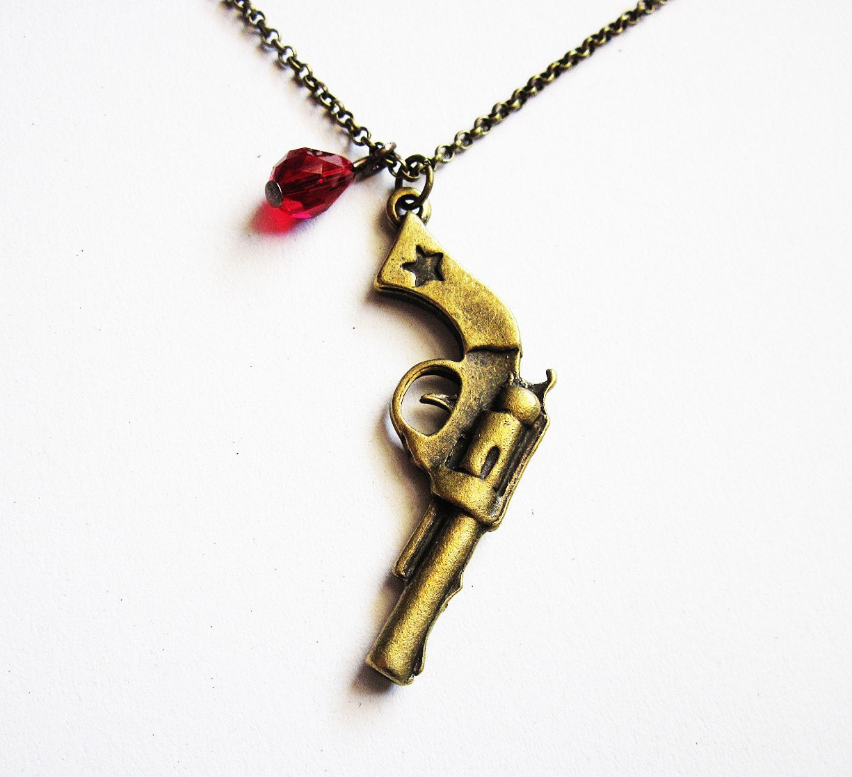 3d gun necklace weapon necklace western cowboy