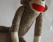 Classic 19 Inch Sock Monkey