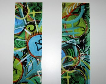 Original Art Bookmarks, Pack of 4