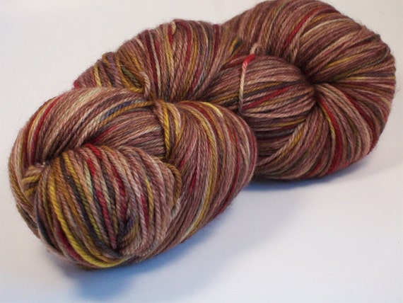What did you EAT on Nub 100% SW Merino Hand dyed fingering weight sock yarn
