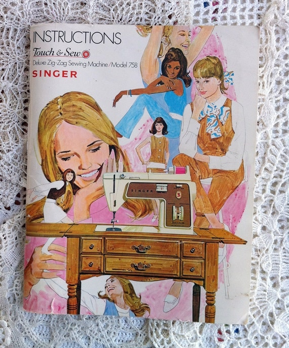 Singer Sewing Machine Instruction Manual, Free Shipping