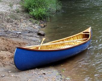 15' Custom Wood Canvas Canoe, built-to-order