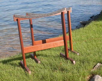 Set of Canoe Display Stands, made-to-order