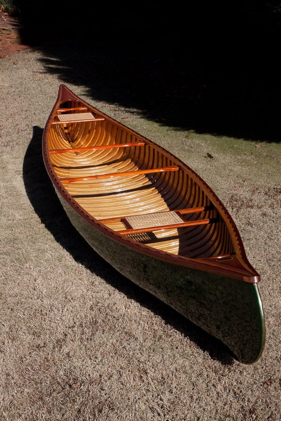 how to make a wood canvas canoe