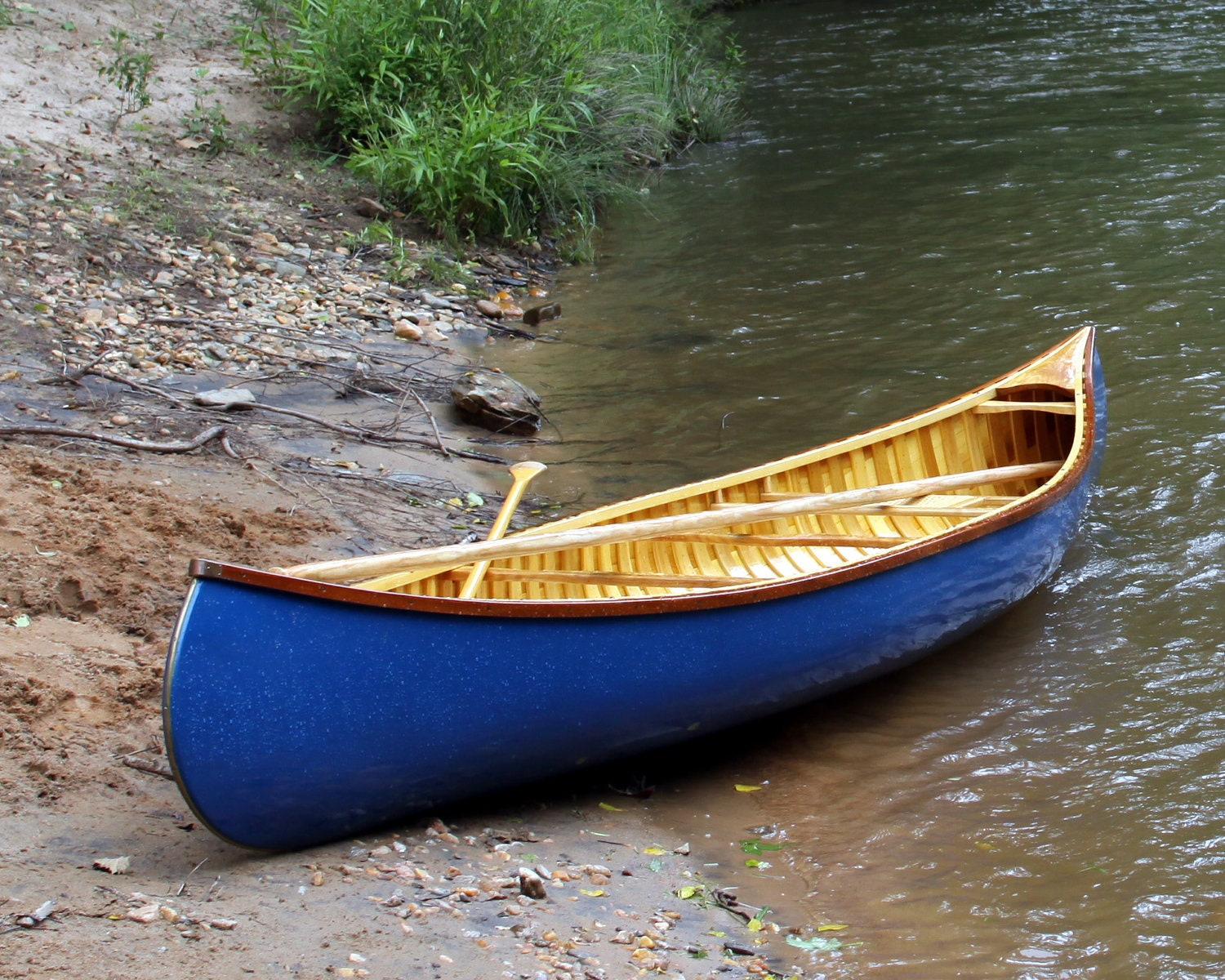 handmade wooden canoes 15 custom wood canvas canoe built to order 7808